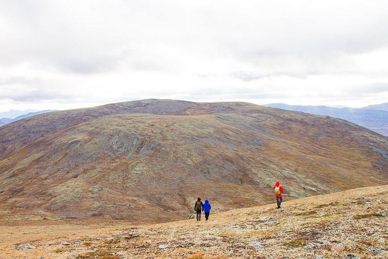 hiking folldal Norway