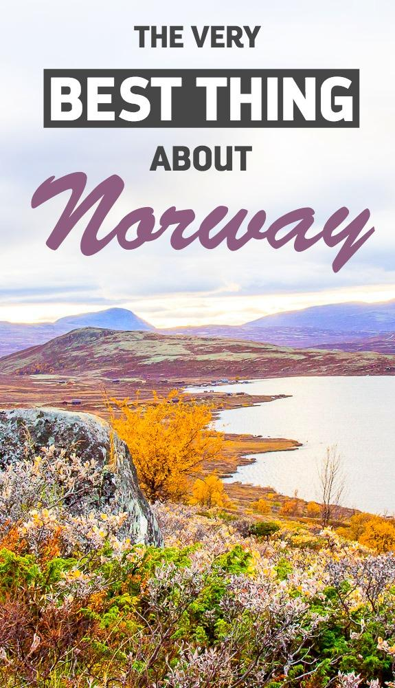 The Very Best Thing About Norway