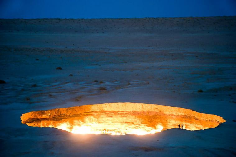 Door to Hell Derweze, Turkmenistan