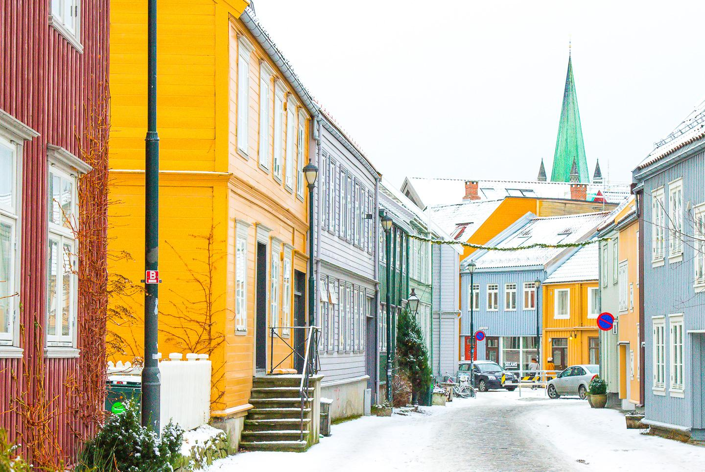 winter Trondheim norway