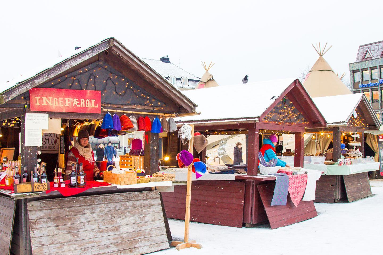 Christmas in Trondheim, Norway