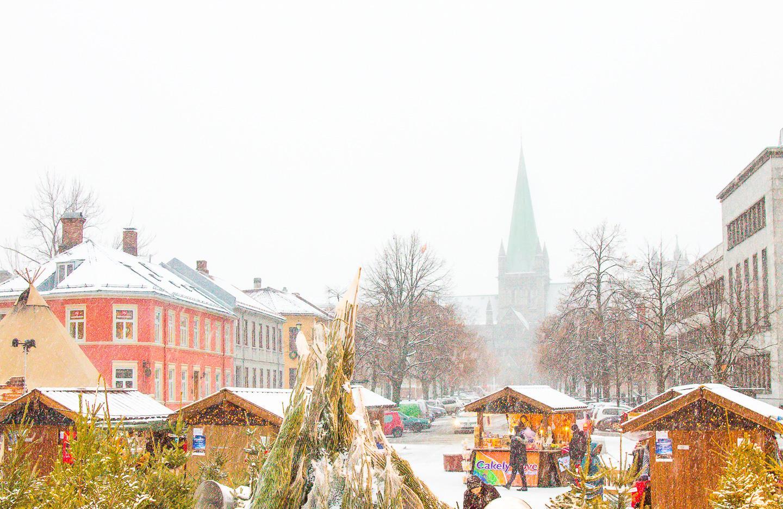christmas market trondheim