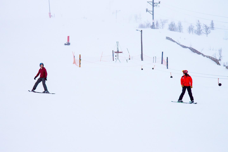 skiing Vierli Rauland Telemark