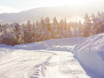 winter Rauland Telemark Norway
