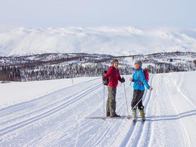 cross-country skiing Rauland Norway