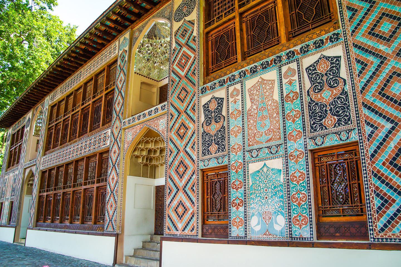 Shah Palace in Sheki Azerbaijan