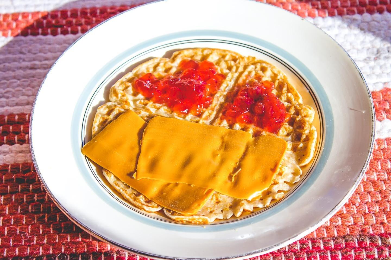 Norwegian waffles