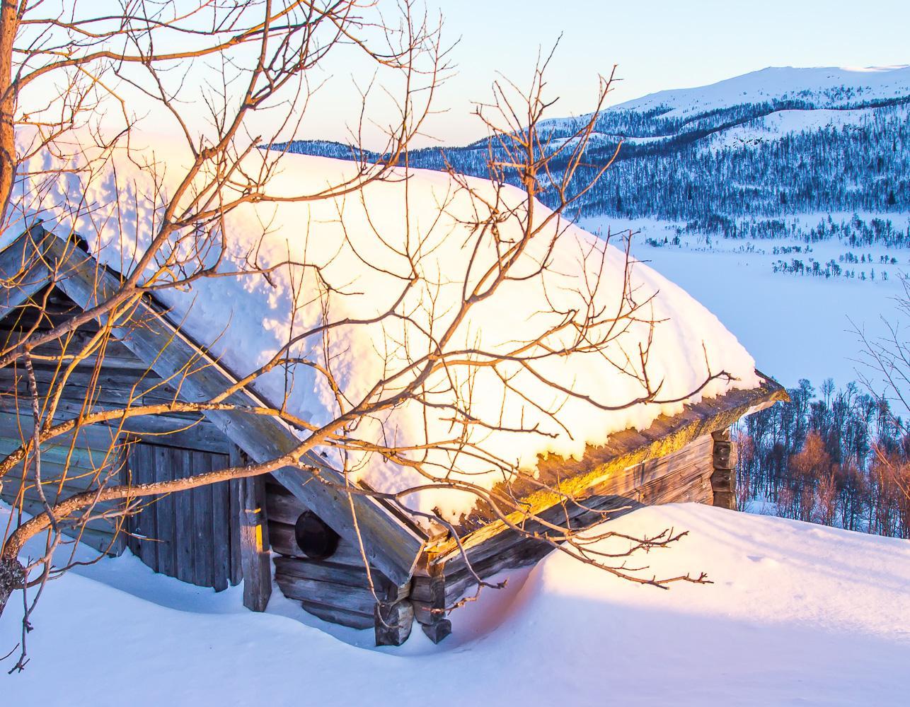 winter rauland telemark