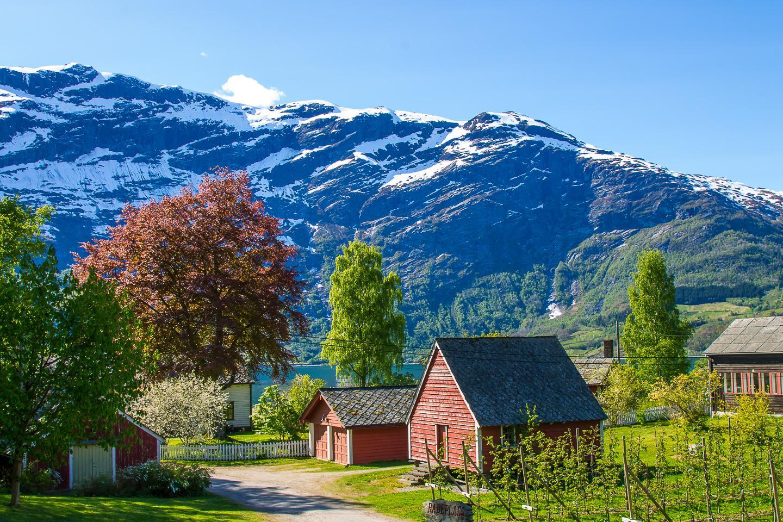 Ullensvang Hardanger Norway