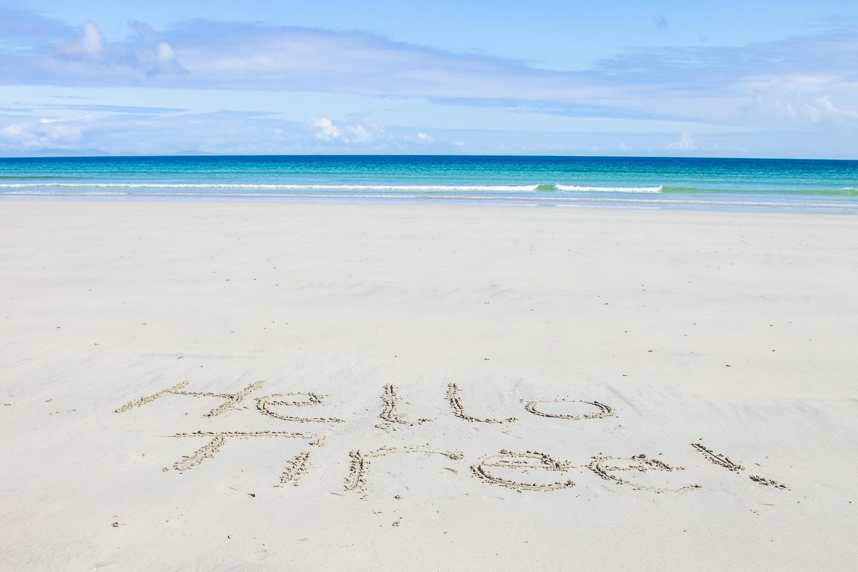 Tiree Inner Hebrides Scotland