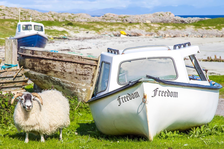 island hopping hebrides scotland tiree