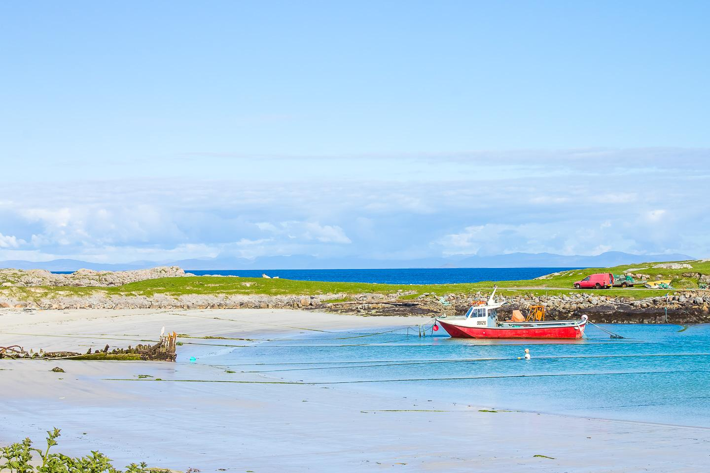 island hopping hebrides scotland tiree