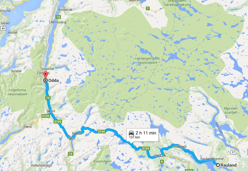 road trip to hardanger