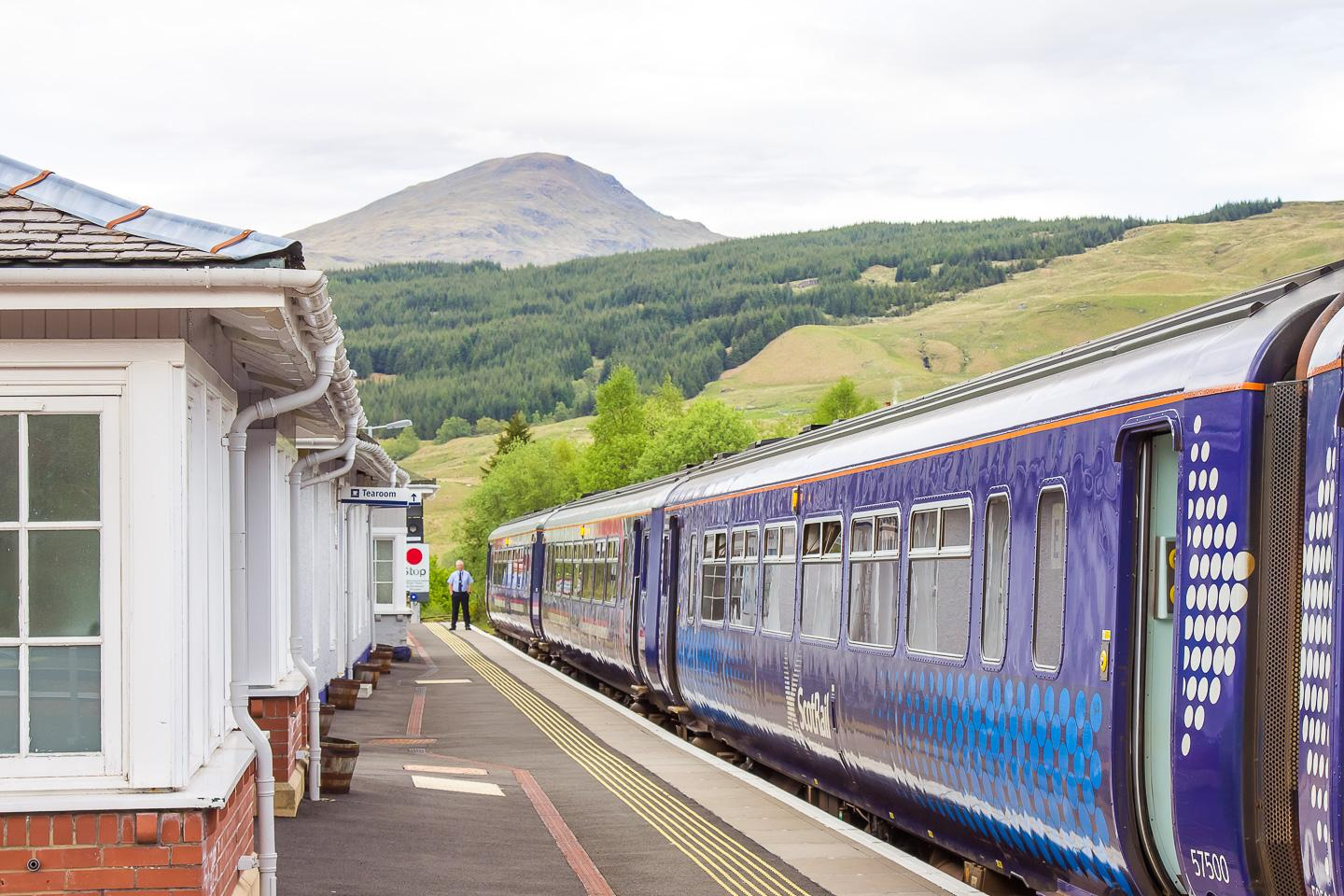 west highland rail scotland train journey