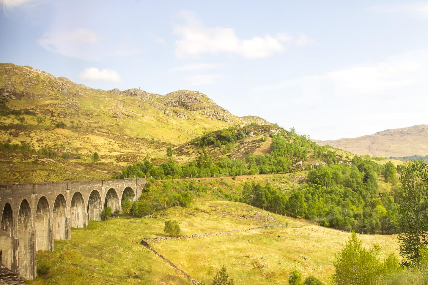 glenfinnan viaduct harry potter bridge