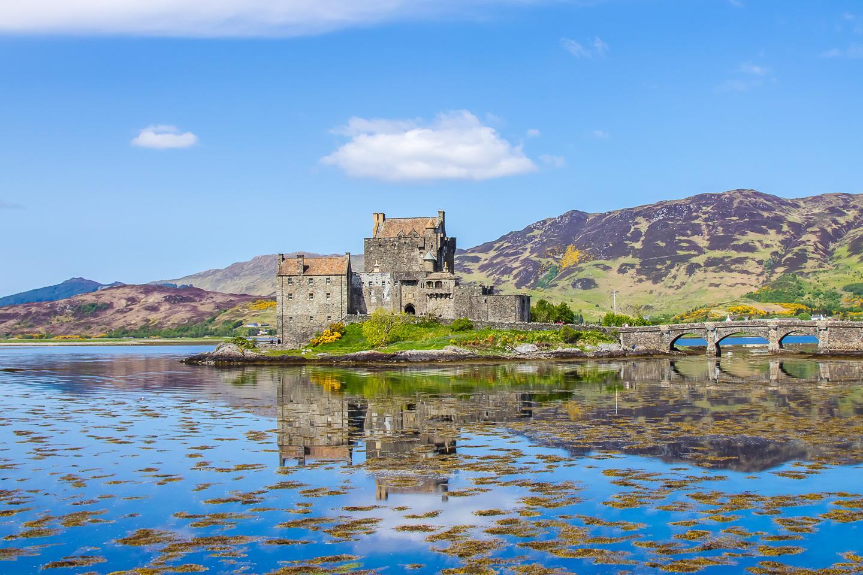 eilean dolan castle island hopping skye scotland