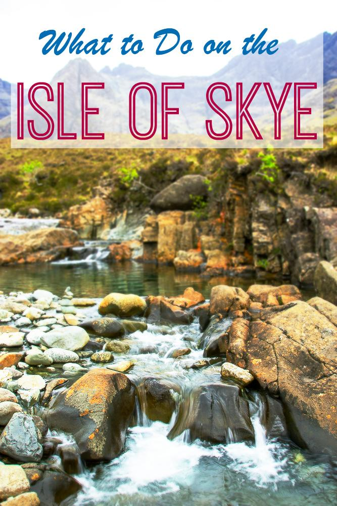 The top spots to visit on the Isle of Skye in Scotland - why you need to travel there!