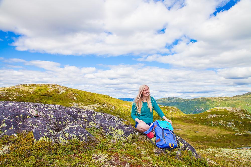 hiking hardangervidda norway