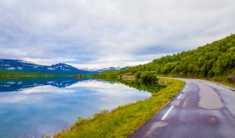 The Prettiest Way to Drive to Trondheim