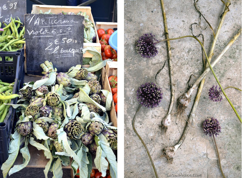 curious provence market food
