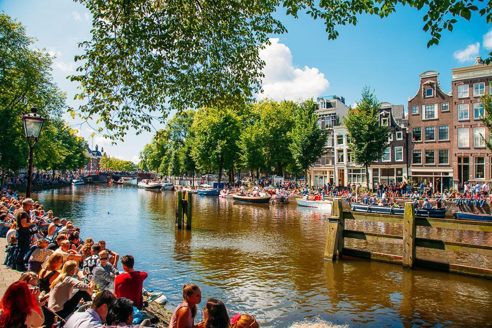 amsterdam pride parade 2016
