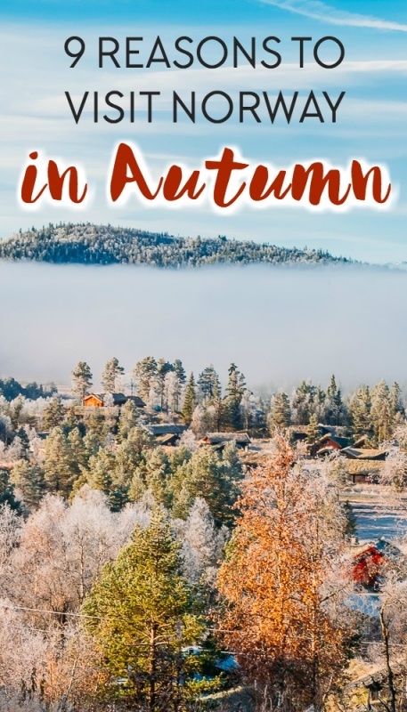 If you're wondering when is the best time to visit Norway, consider traveling to Norway in the autumn! Fall here is magical - click through to read why.