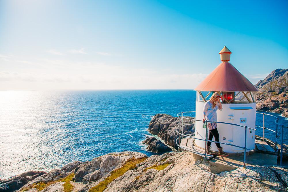 Brufjell Åna-Sira Roligheten lighthouse