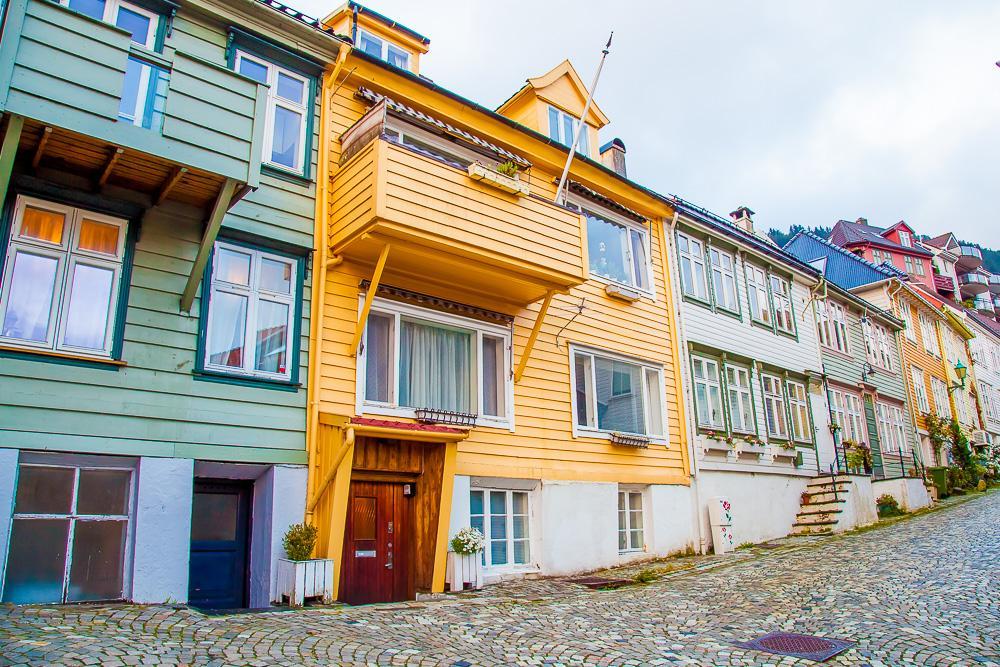 downtown Bergen Norway