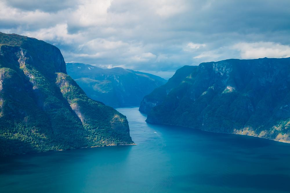 aurlandsfjell view sognefjord bergen fjords norway