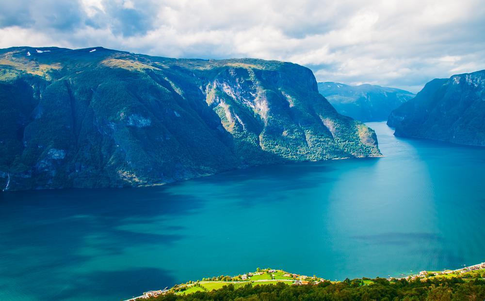 Sognefjord near Bergen Norway fjords