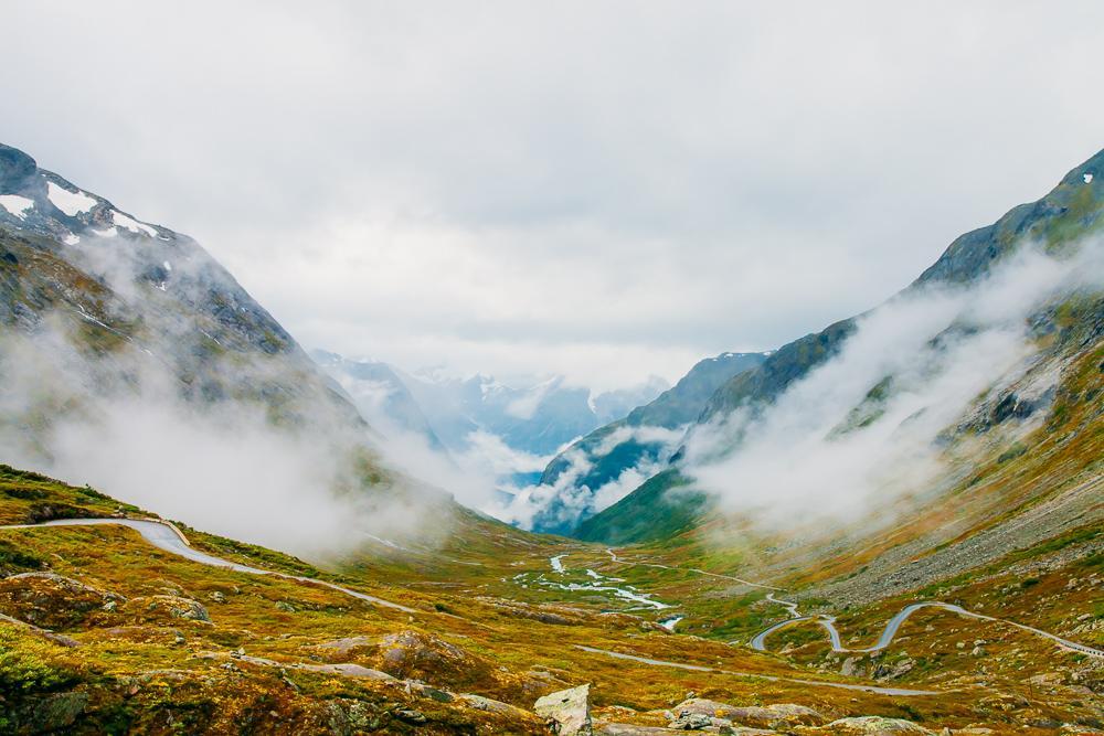 gamle strynefjellsvegen mountains norway road trip tourist route