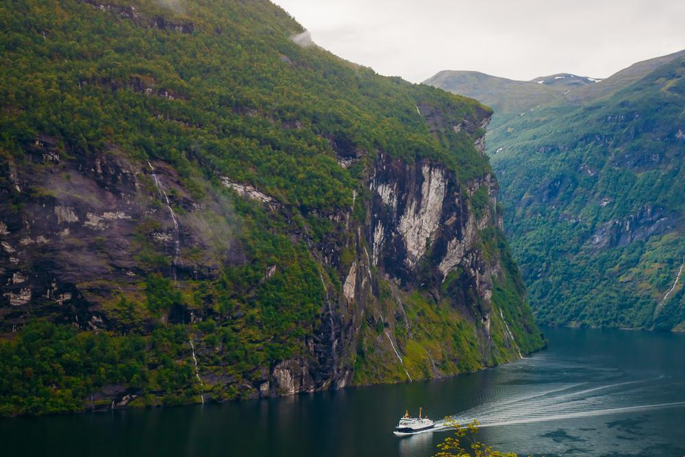 Geirangerfjord Geiranger Norway