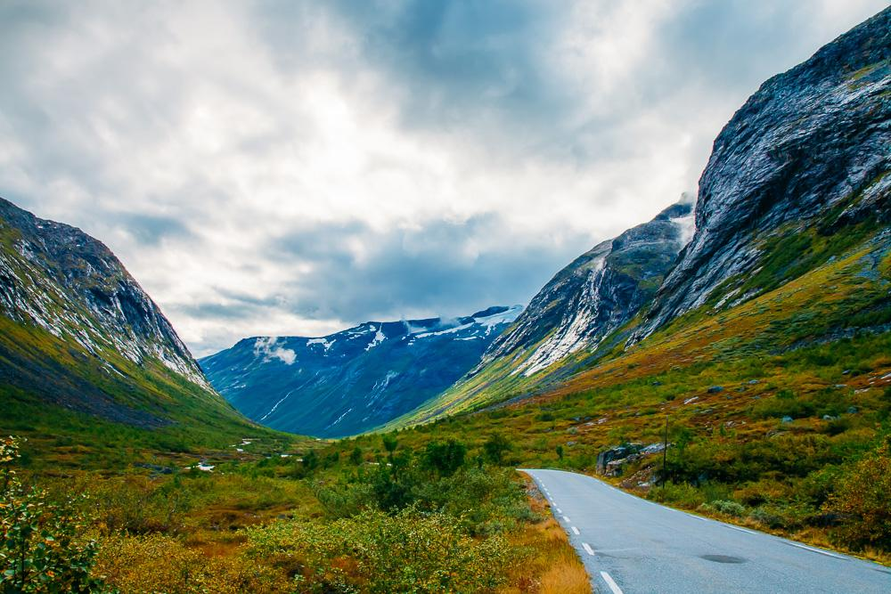Trollstigen tourist route Norway