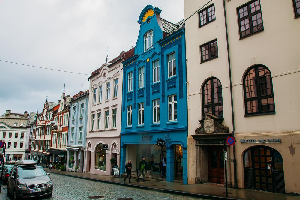 downtown ålesund art nouveau