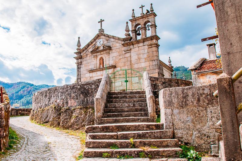Peneda-Gerês national park portugal church