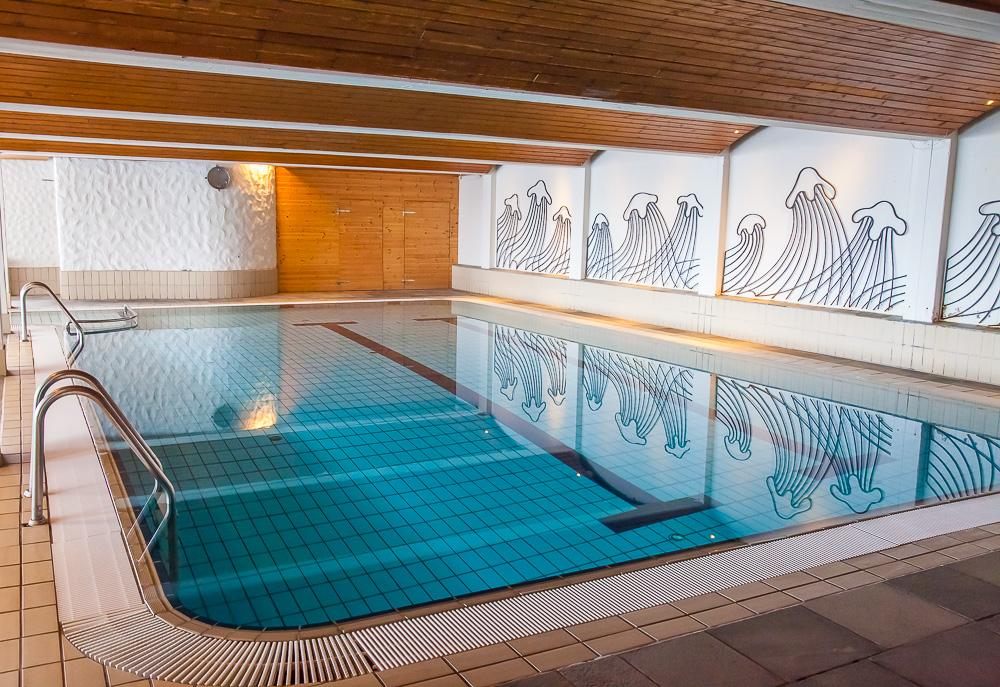 Gaustablikk Hotel indoor swimming pool
