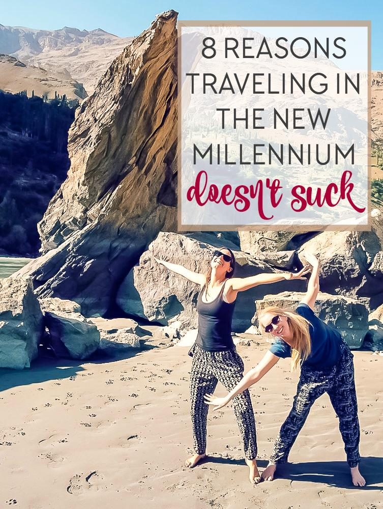 Sometimes as a millennial it feels like the golden age of travel is over. But there are also some seriously awesome (and surprising) advantages to travel these days. Click to read!