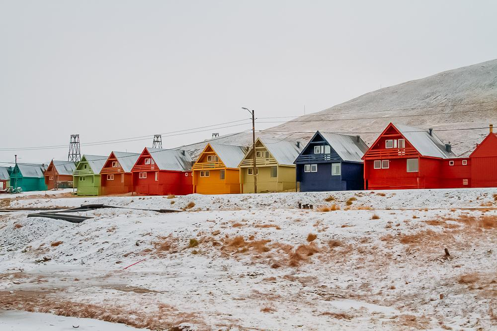 visiting svalbard arctic norway houses