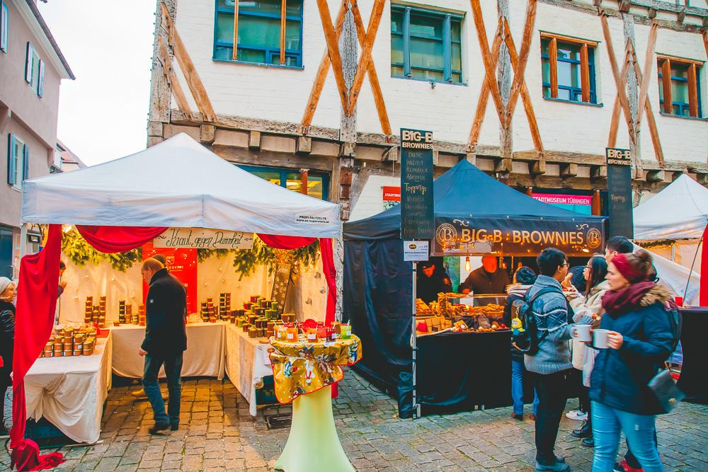 Tübingen december winter chocolate festival