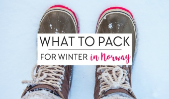 What to Pack for Winter in Norway