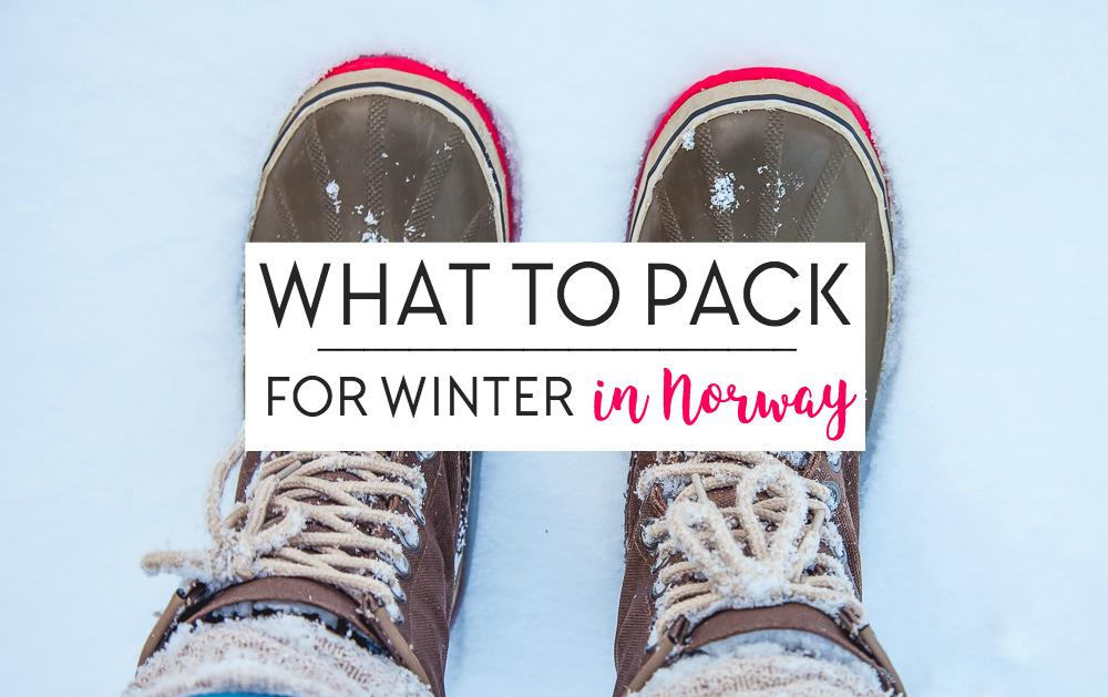 What To Pack For Winter In Norway Heart My Backpack