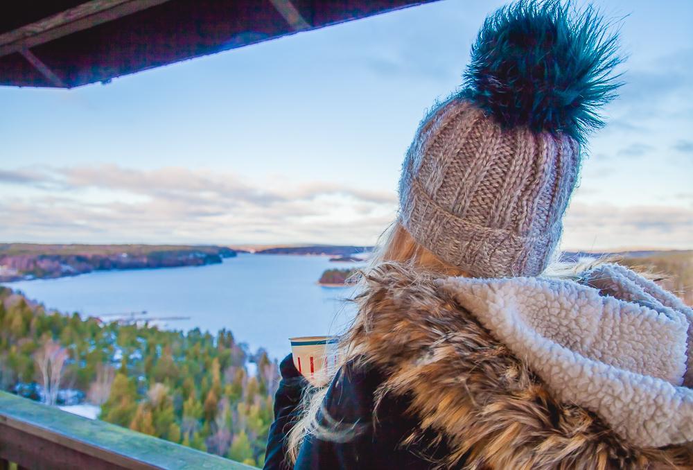 uffe på berget åland cafe view tower