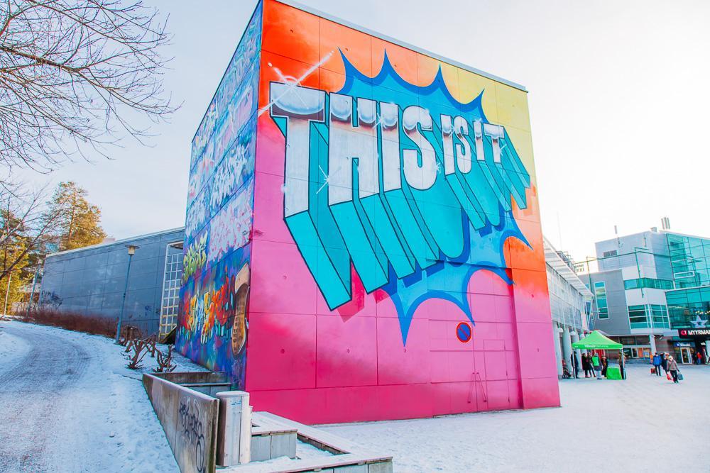 street art guide helsinki vantaa finland