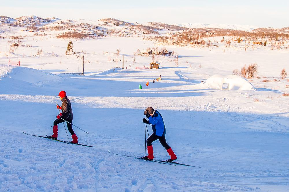 skiing in rauland