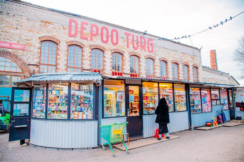 depoo turg russian market hall tallinn estonia