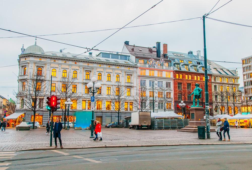 downtown oslo