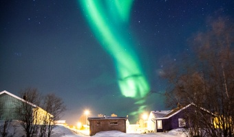 The Best Place in Norway to See the Northern Lights Is Actually in Sweden
