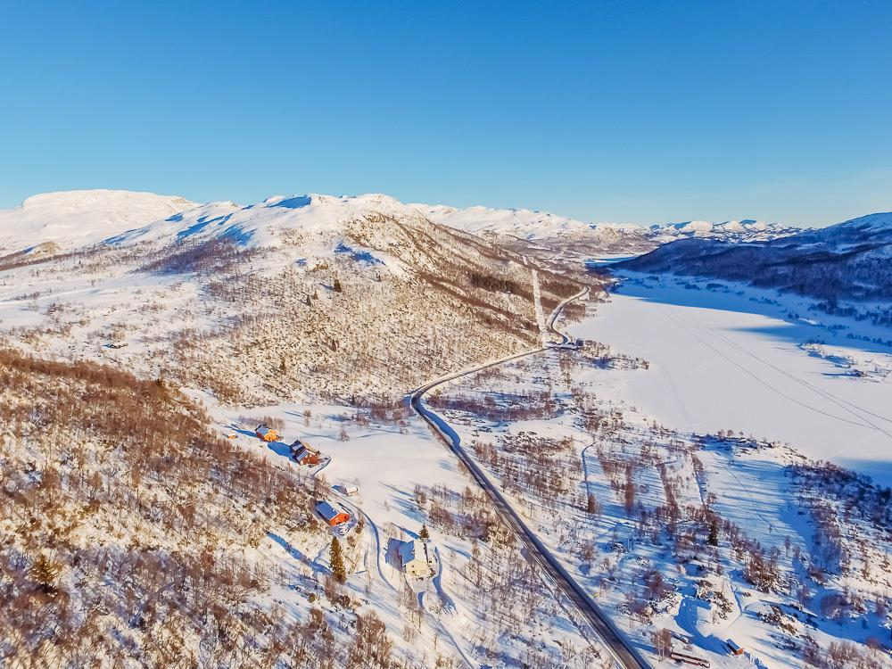 rauland telemark winter norway february march