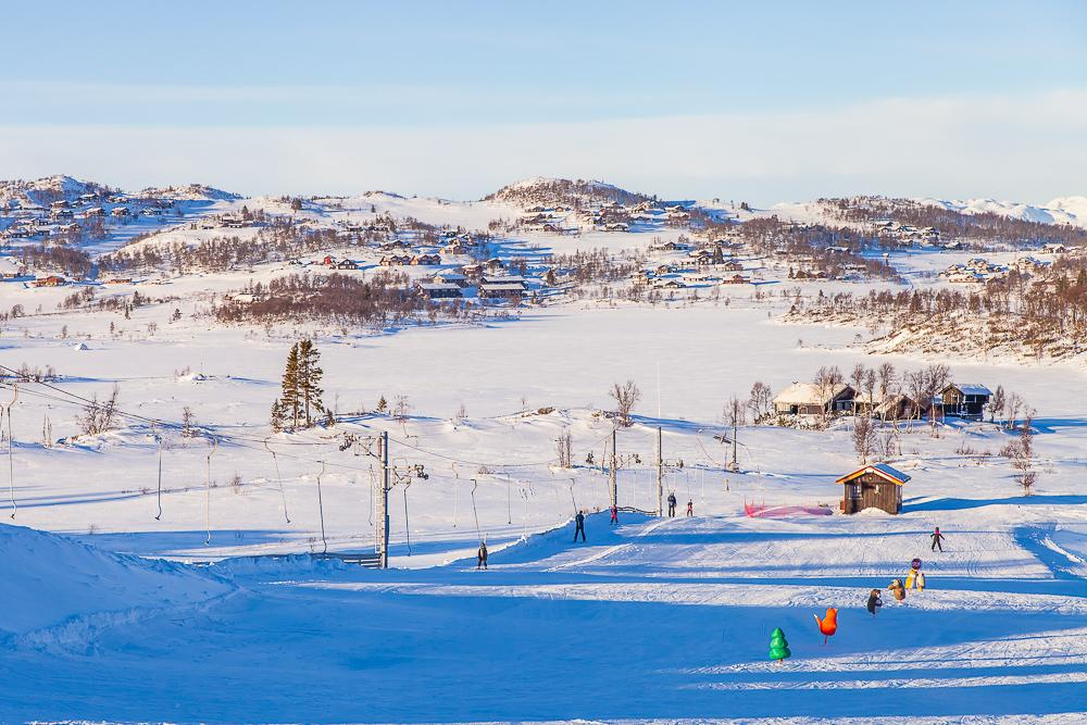 winter rauland telemark vierli ski slopes