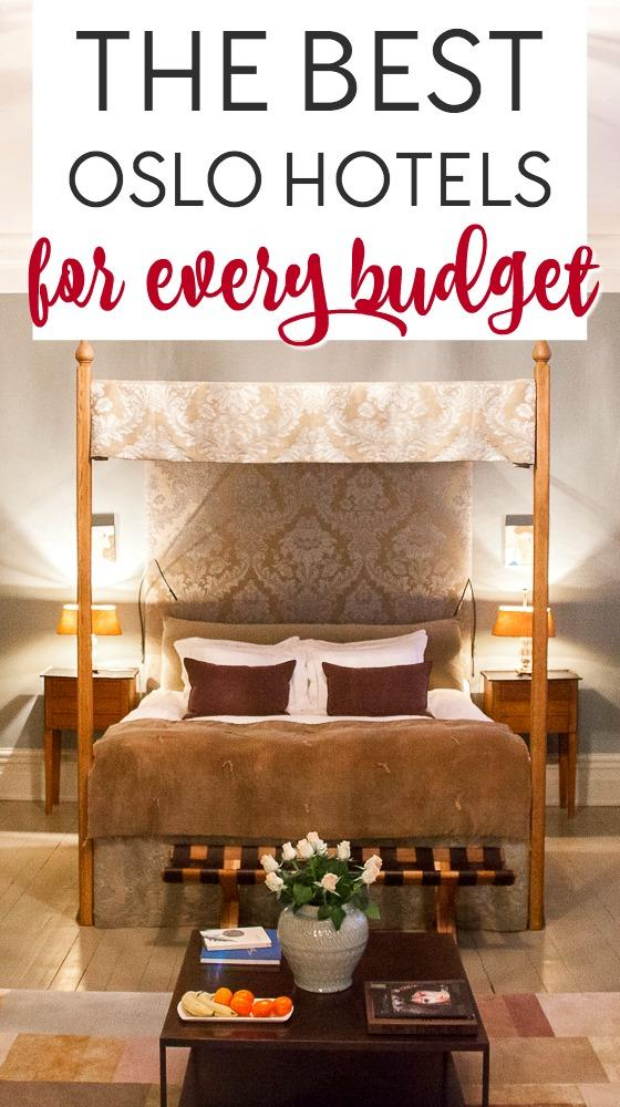 A complete guide to finding the best hotels in Oslo, from budget Oslo hostels to mid-range and boutique hotels, to luxury accommodation in Oslo, Norway